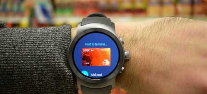 Смарт часы с nfc android pay — способ подключить карту